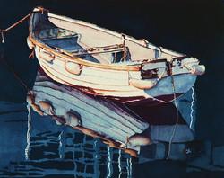 Still Water Watercolor 20x24 1998