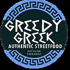 greedy greek logo street food EATIN & TA