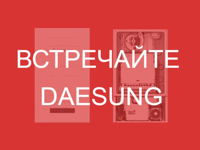Дэсунг | Daesung | Газовые двухконтурные настенные котлы