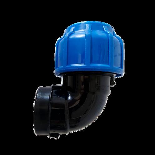 Отвод 90гр компрессионный с внутренней резьбой FITSA