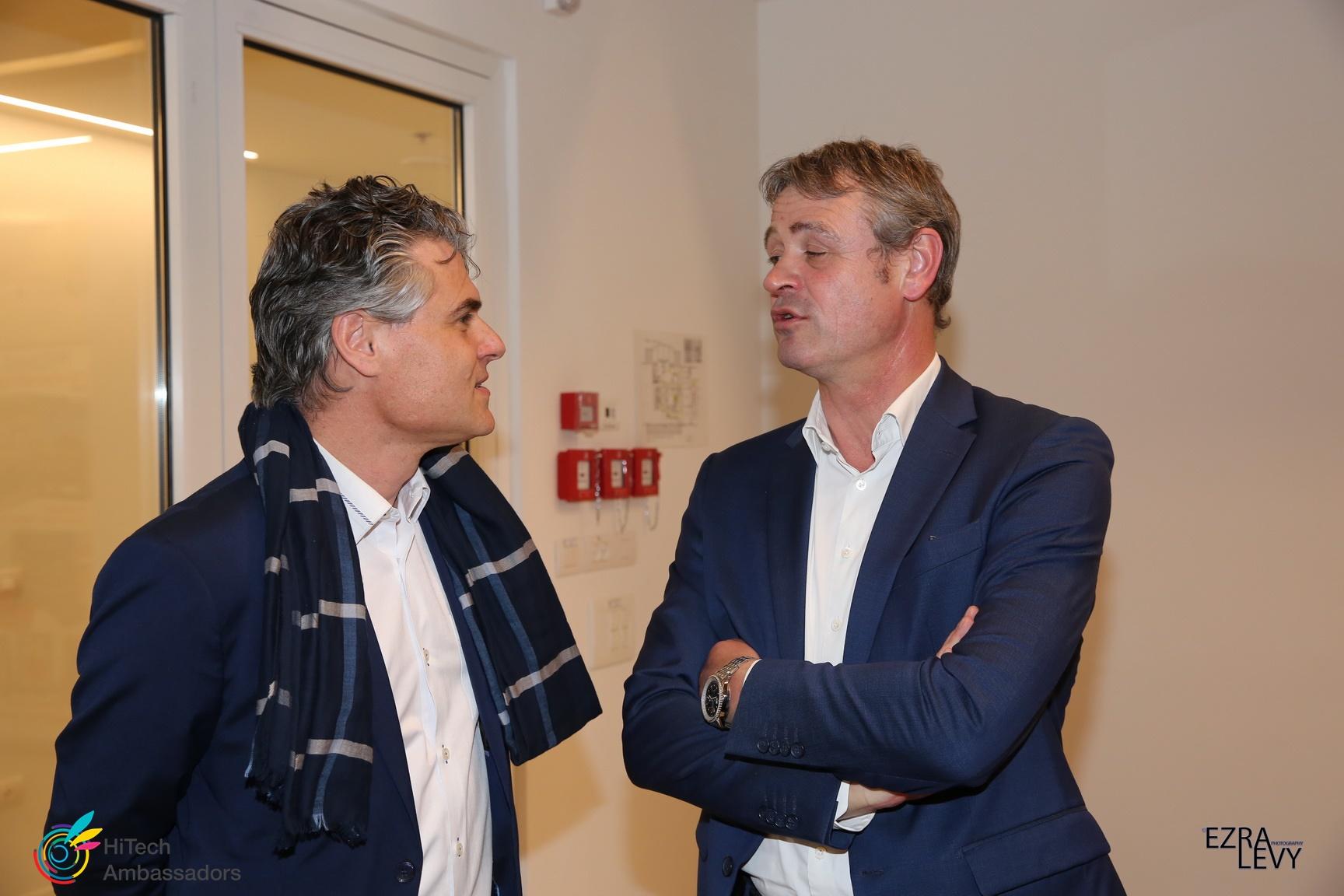 Swiss Ambassador & Yariv Nornberg