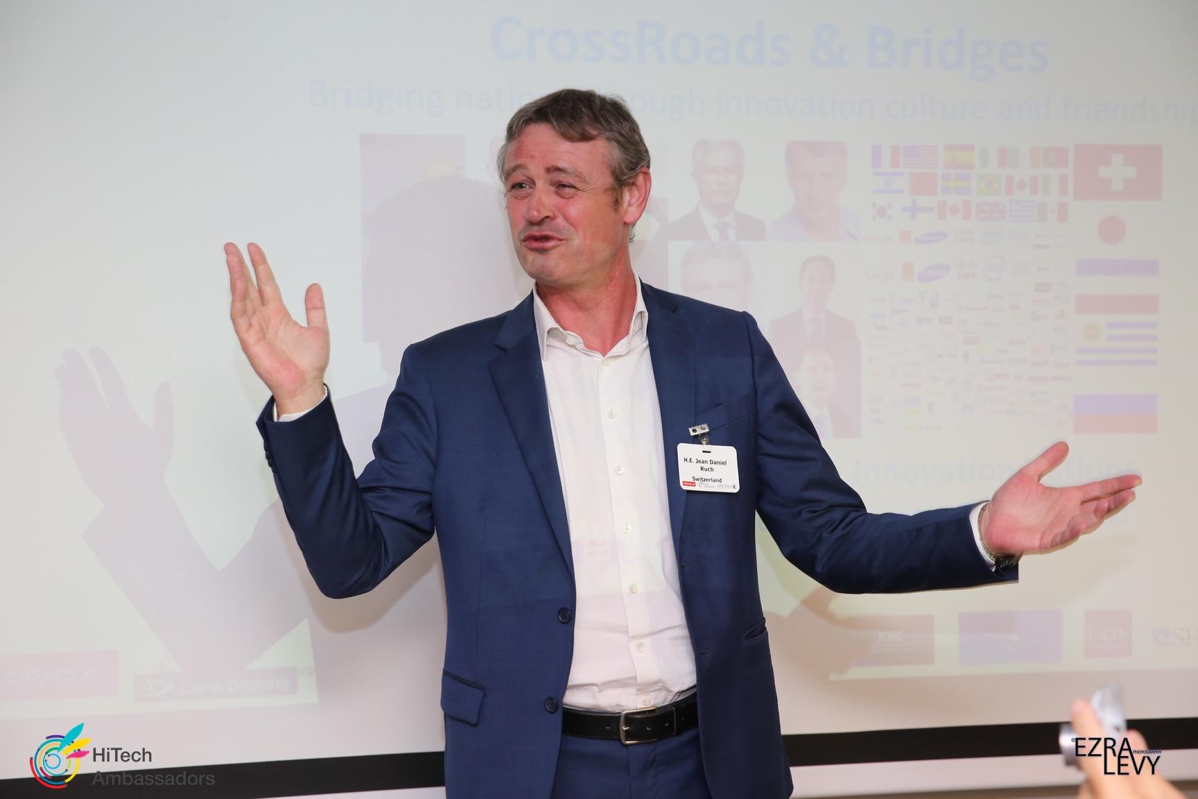 Swiss Ambassador Jean Daniel Ruch