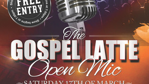 The Gospel Latte Open Mic