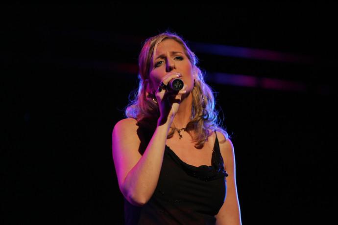 Bianca Harrison als Finalistin beim Gospelaward Berlin
