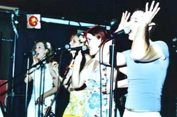 Dona Guarapita Backing Vocals