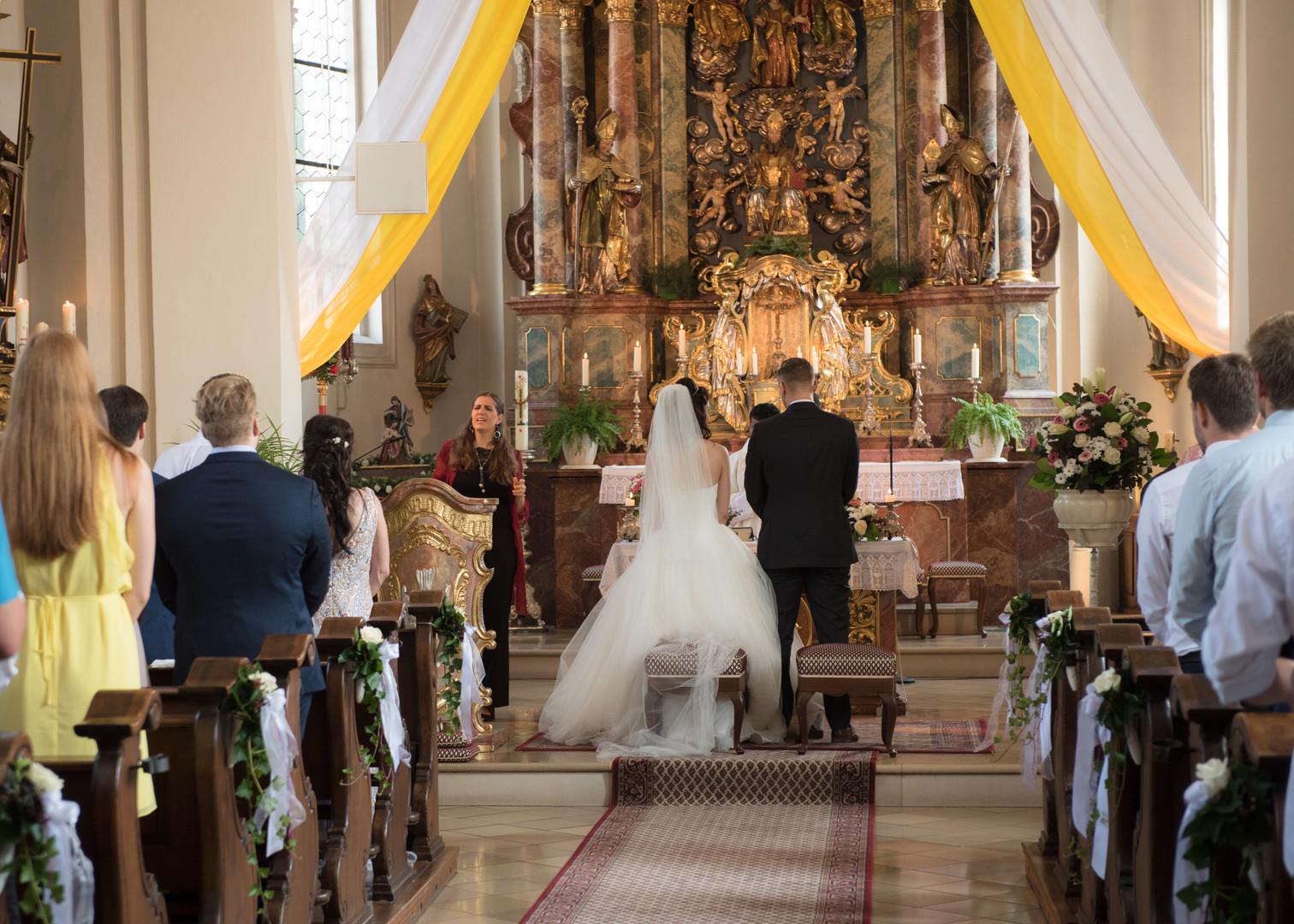 Hochzeit Kirche Gesang München Unterföhring
