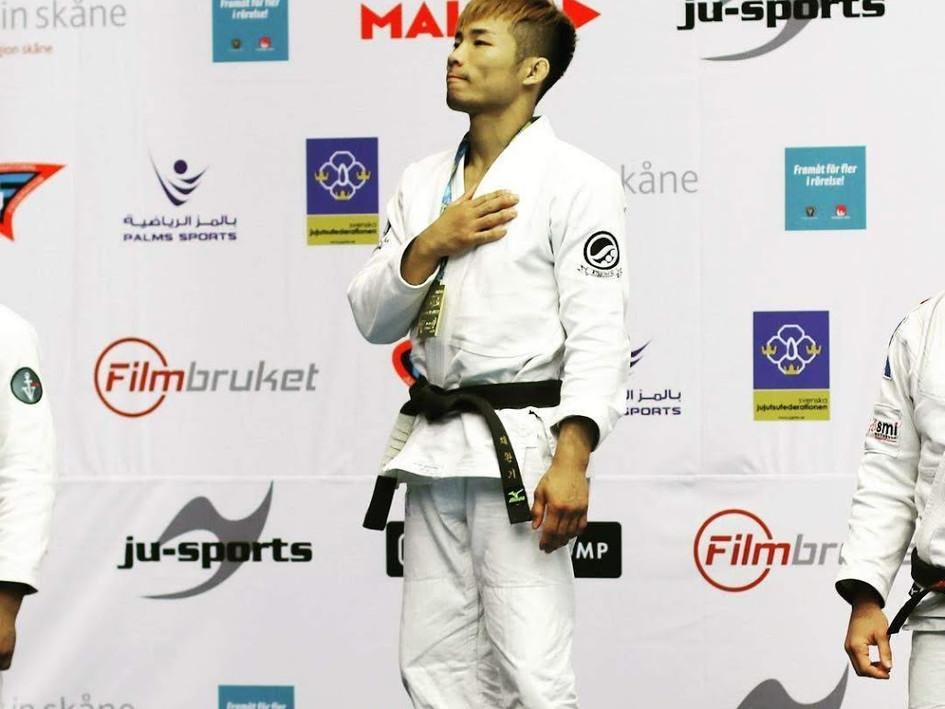 JJAU 세계주짓수 선수권 우승
