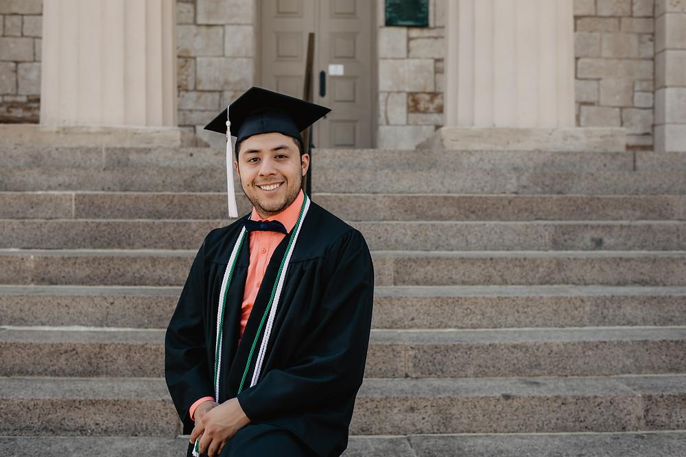 grad portrait