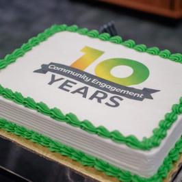 Department 10-Year Anniversary Branding