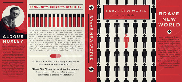 Book Cover Redesign - Brave New World
