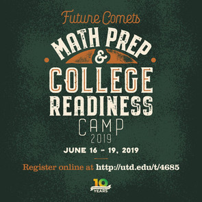 College Summer Camp Flyer