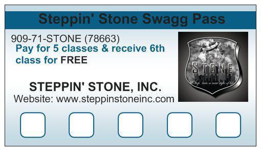 Steppin' Stone SWAGG Pass