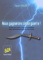 Premier de couverture Nous gagnerons cette-guerre du Général Henri Roure.jpg