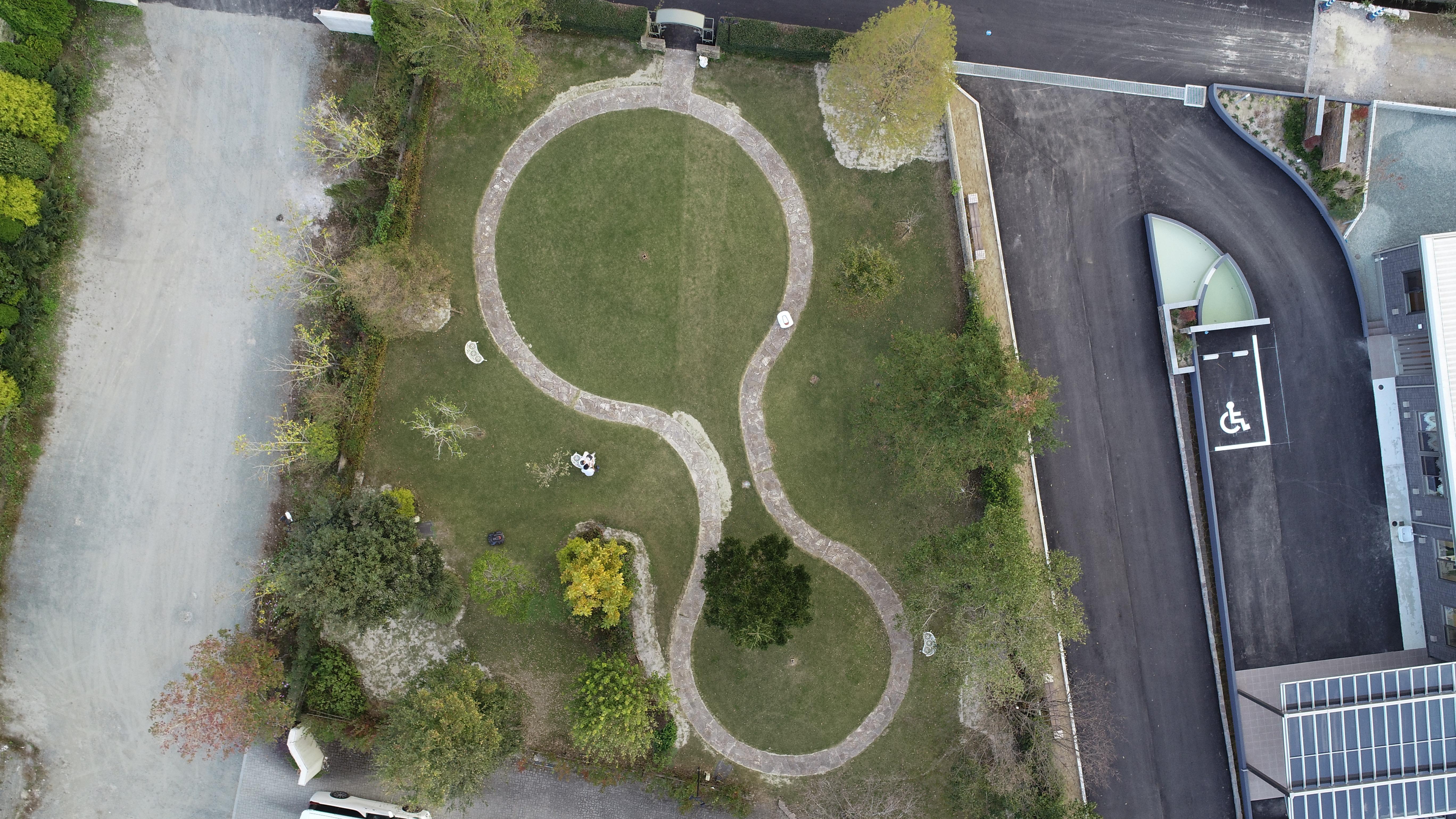 リハビリ 庭園