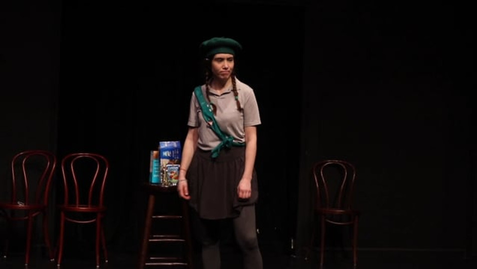 Angry & Motivational Girl Scout-Sketch Comedy