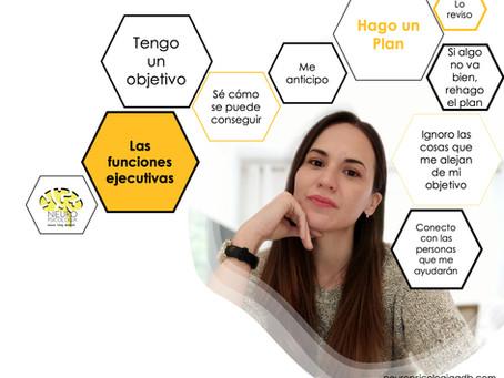 ¿Qué son las funciones ejecutivas?