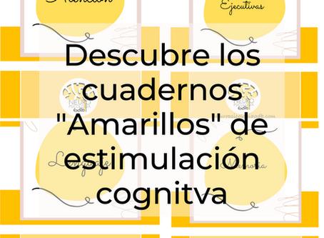 """Cuadernos de estimulación cognitiva """"amarillos"""" ¿Para quienes están recomendados?"""