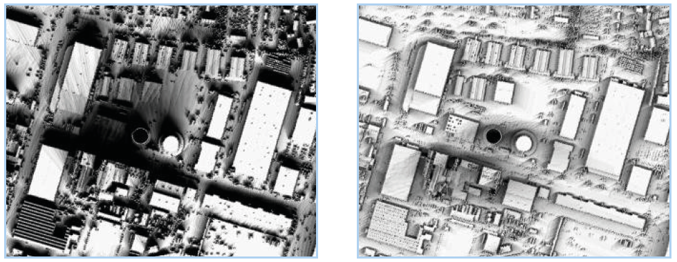 Shading analysis from LiDAR