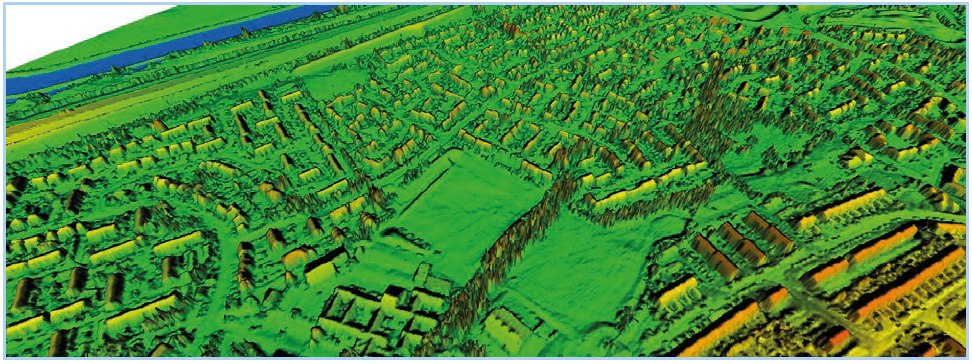 LiDAR show pre-flood conditions