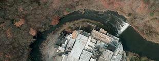 Digital aerial photo New England