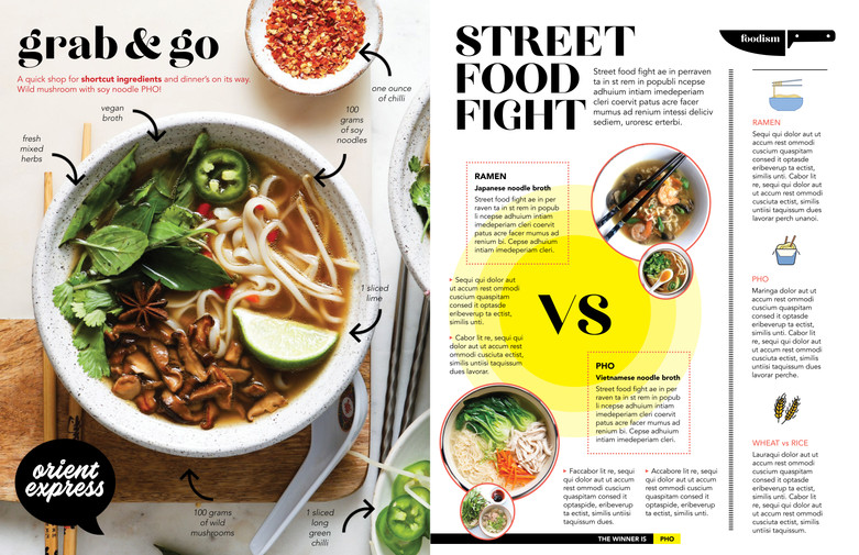 Grab & Go + Street Food Fight