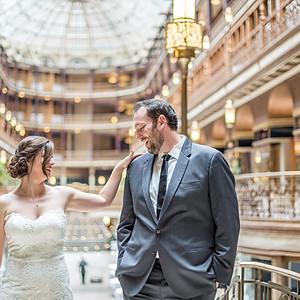 Laura & Matt // Downtown Cleveland