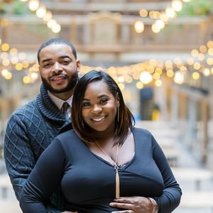 Syesha & Gerald // Cleveland Public Library & Arcade