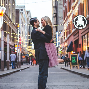 Michelle & Ray // Downtown Cleveland