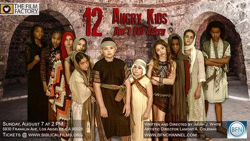 12 Angry Kids DVD Pre Sale