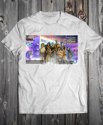 Darryl Jones and the School of Doom Exclusive T-Shirt (Front/ Back)