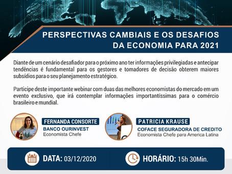 [ WEBINAR ] Perspectivas cambiais e os desafios da economia para 2021