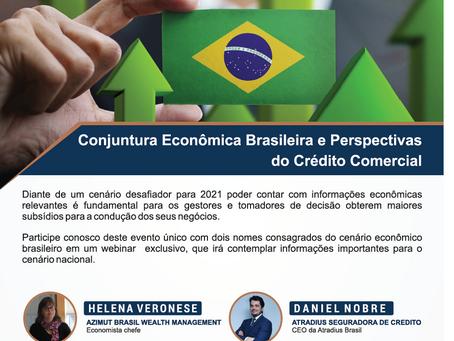 Conjuntura Econômica Brasileira e Perspectivas do Crédito Comercial