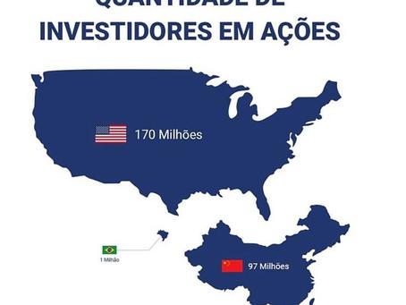 Brasileiro conhece Bolsa, mas fica na poupança ou não investe nada