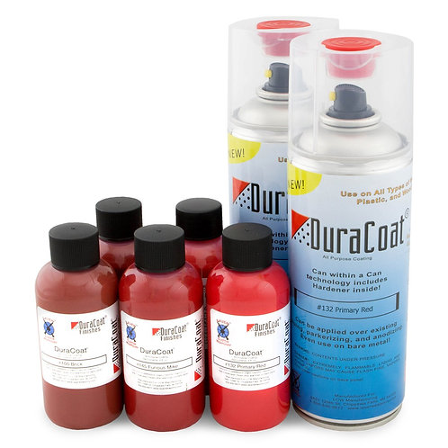 DuraCoat Standard Colours - Reds