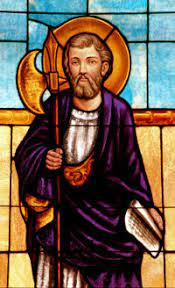 FEAST OF ST MATTHIAS MAY 14, 2021
