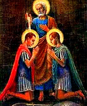 WEDNESDAY OF THE SIXTH WEEK OF EASTER MEMORIAL OF STS NEREUS, ACHILLEUS MAY 12, 2021