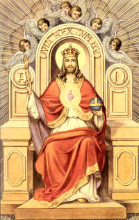 THE SOLEMNITY OF OUR LORD JESUS CHRIST, KING OF THE UNIVERSE NOVEMBER 22, 2020