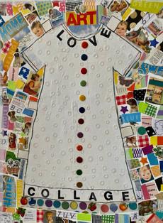 Love Collage Dress