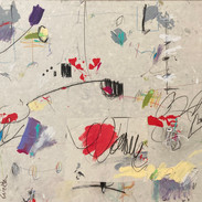 Cy Twombly Wannabe
