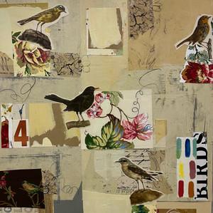 Four Backyard Birds
