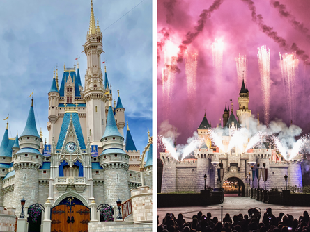 Disney World vs Disneyland