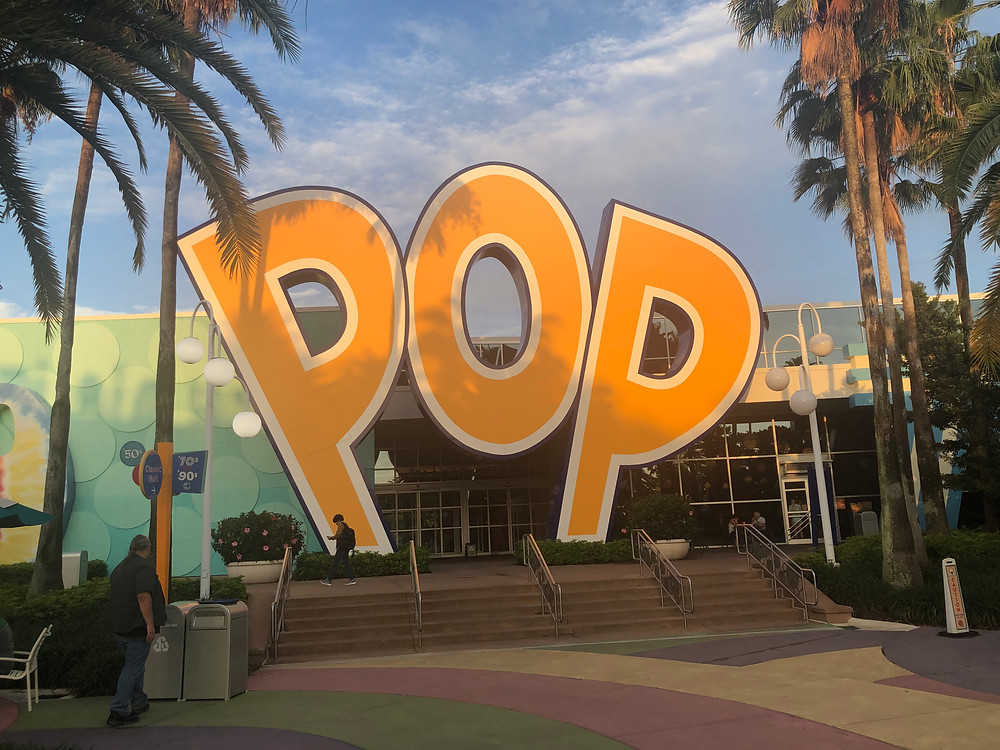 Disney's Pop Century Resort; Disney World Value Hotel; Disney World Resort; Disney World Hotel
