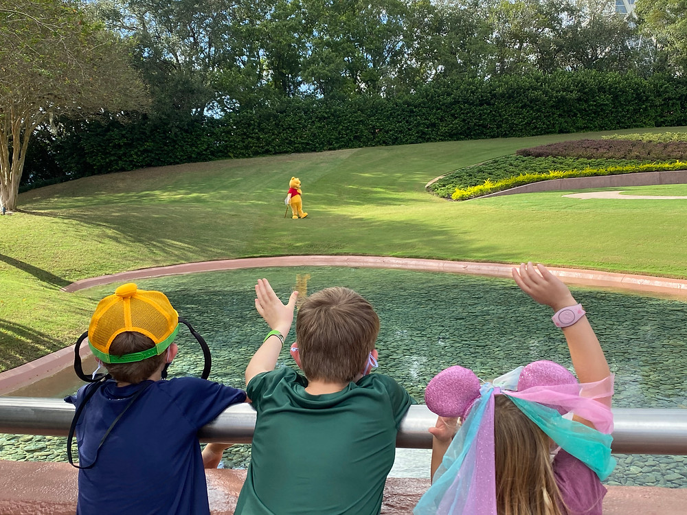 How to find a Disney World Character Cavalcade, Epcot
