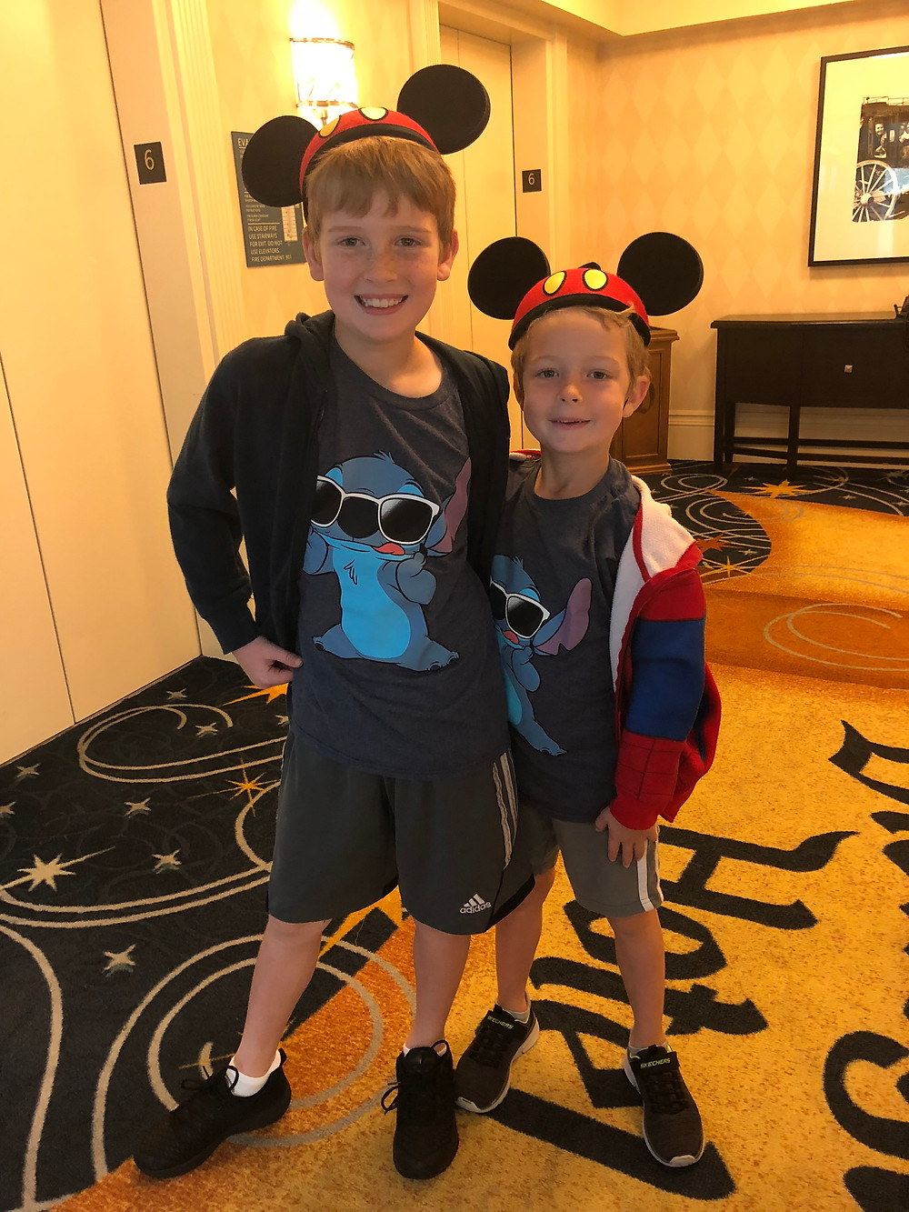 Disneyland Hotel Elevator Lobby