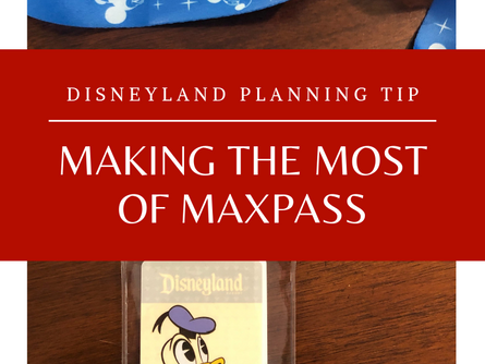 Quick Disney MaxPass Tip