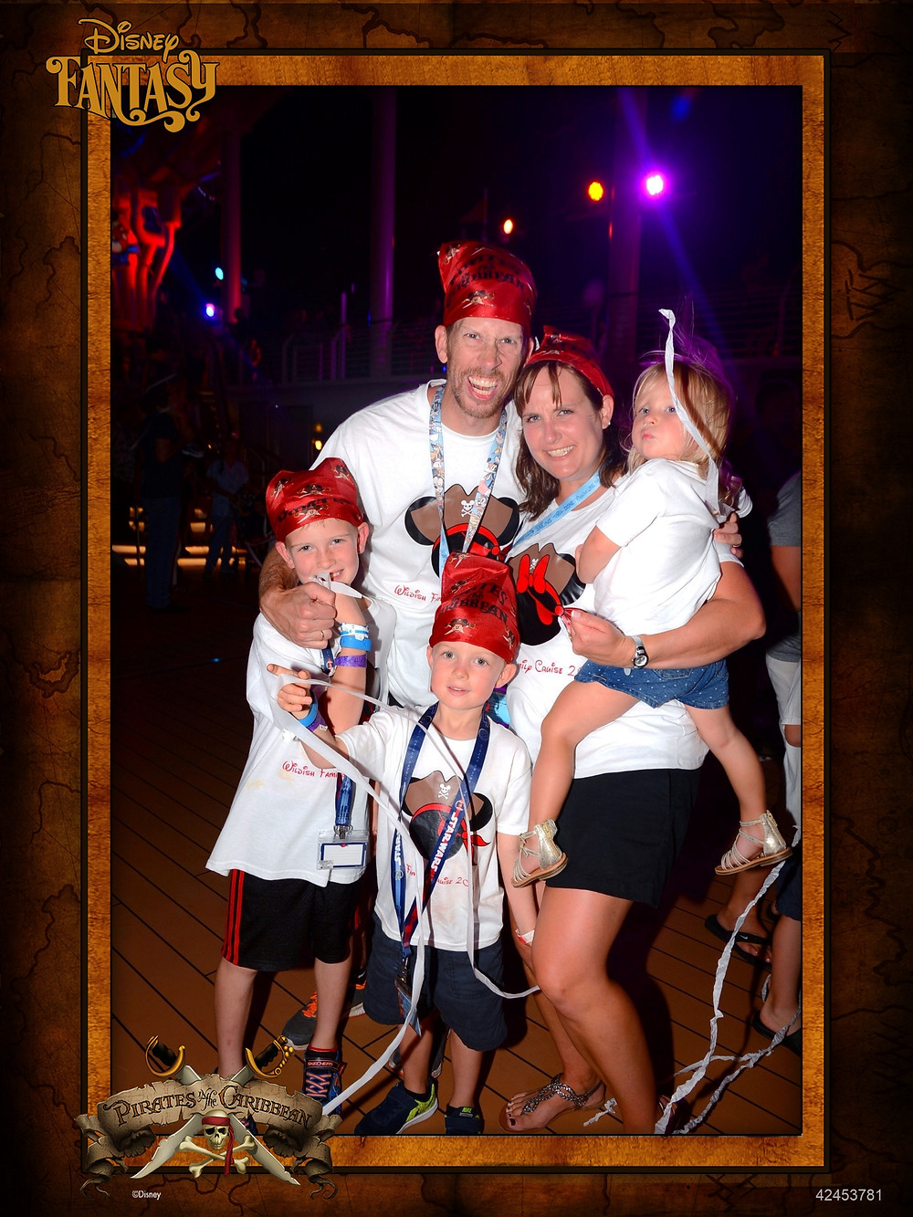 Disney Cruise Line Pirate Night