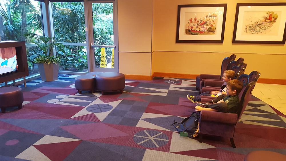 Disneyland Hotel Lobby