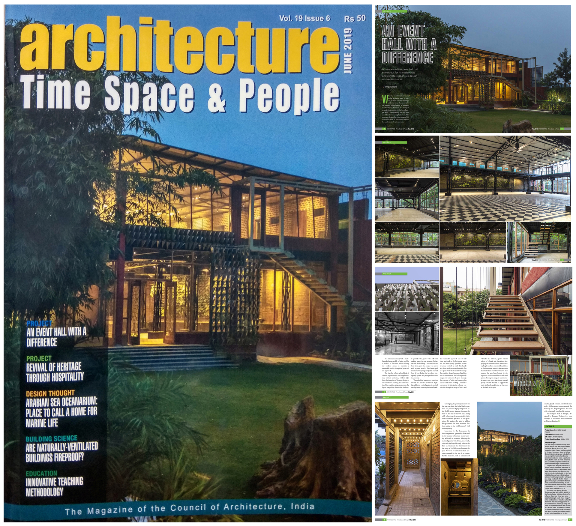 Architecture: Time, Space & People