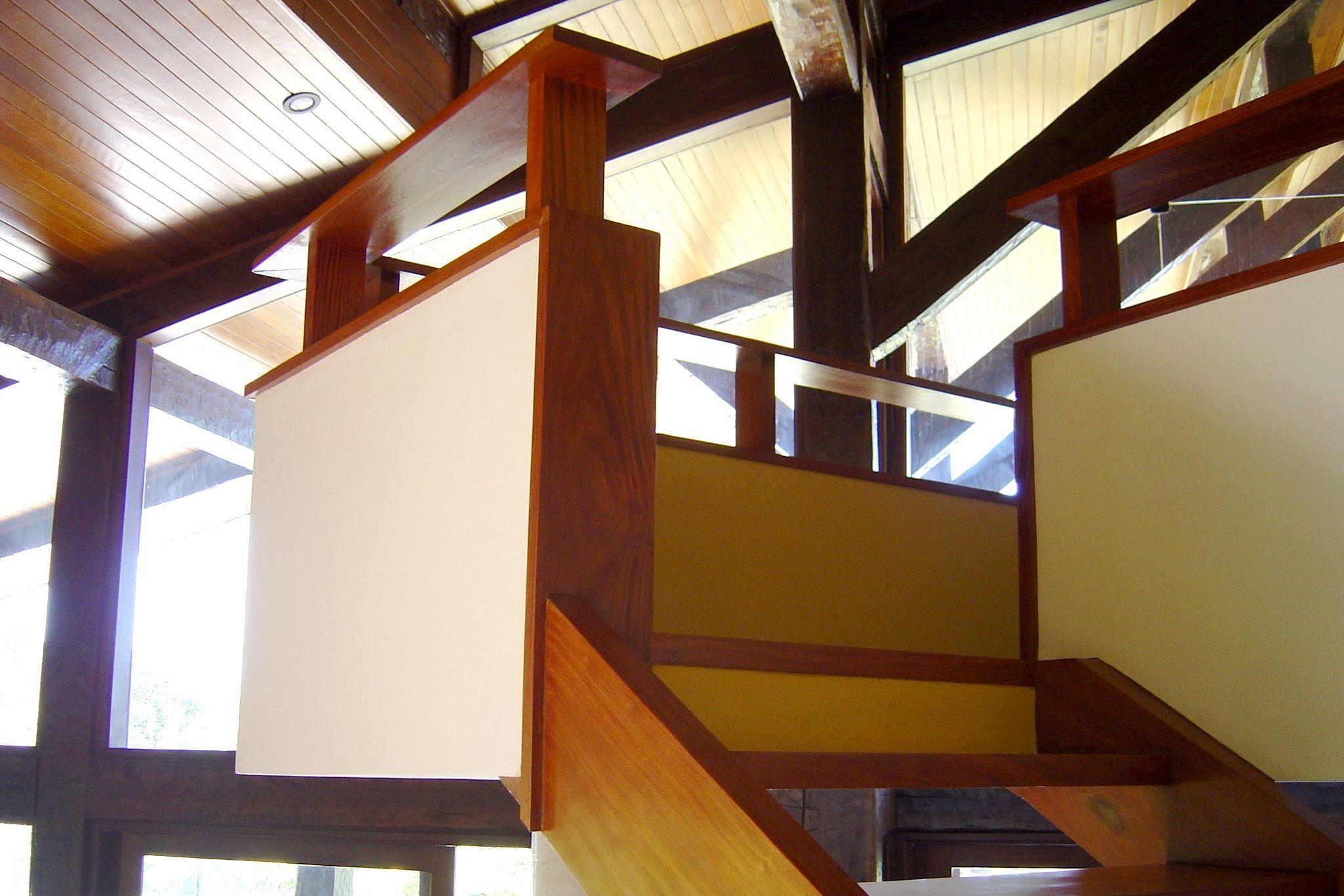 Detalhes da escada