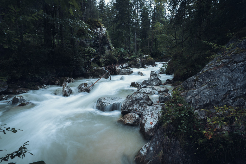 WILD RIVER  IMAGE 5 OF 5  Hintersee bei Ramsau 2020